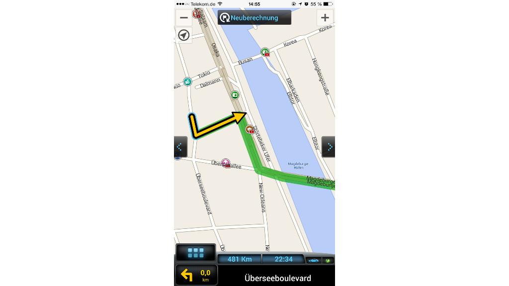 Navigation: Diese Apps lotsen offline - Bilder, Screenshots ...