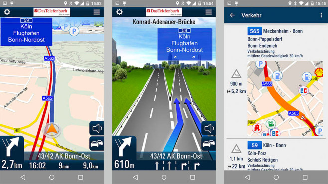 Offline Navigation iPhone Android Windows Phone ©Maps & Route