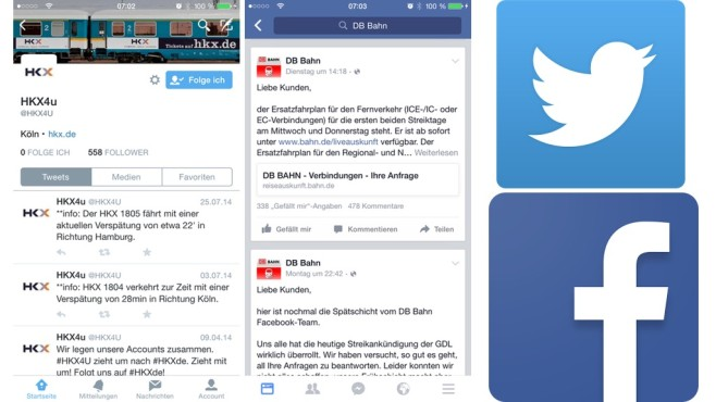 Screenshots Twitter/Facebook © COMPUTER BILD