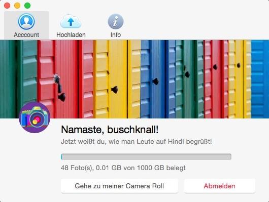 Screenshot 1 - Flickr Uploadr (Mac)