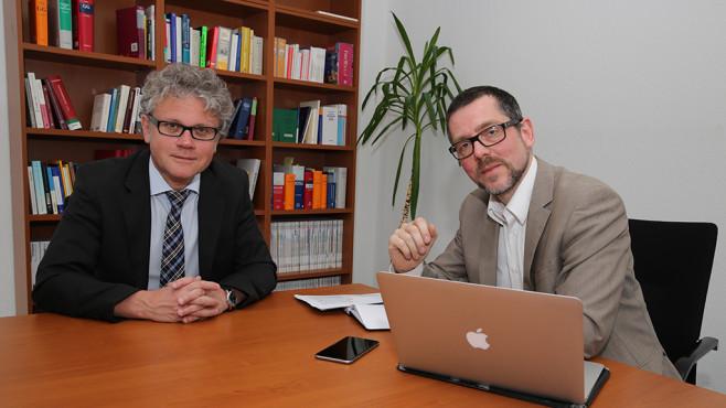 Prof. Dr. Johannes Caspar interviewt von Christian Just©COMPUTER BILD