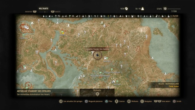 The Witcher 3: Orte der Macht – Velen - Bilder, Screenshots ...