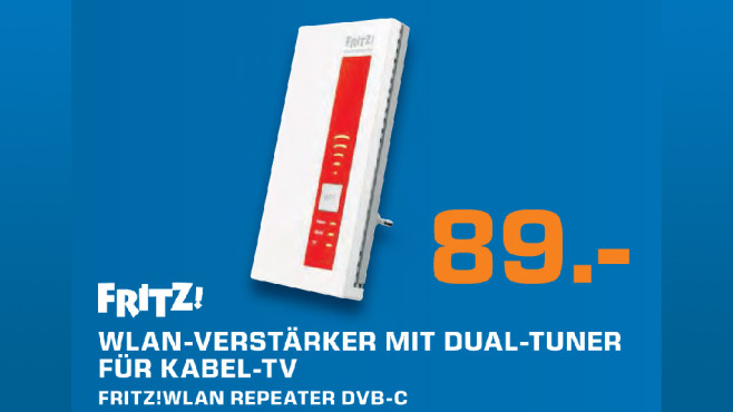 AVM FRITZ!WLAN Repeater DVB-C ©Saturn