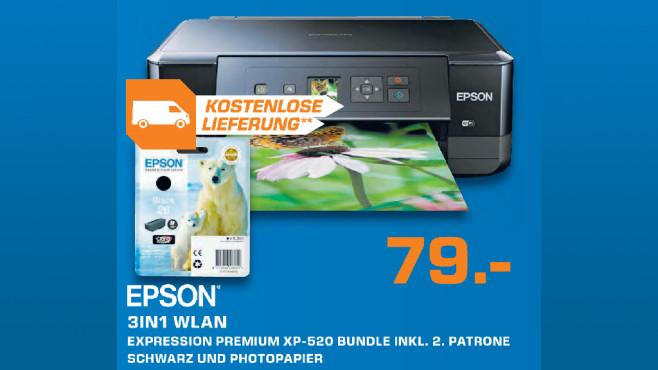Epson Expression Premium XP-520 ©Saturn
