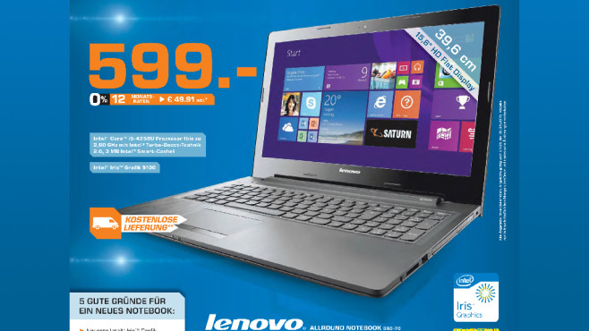 Lenovo G50-70 ©Saturn