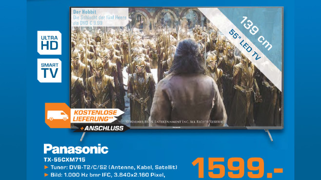 Panasonic TX-55CXM715 ©Saturn