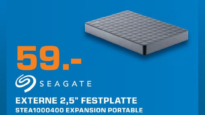 Seagate Expansion Portable 1TB ©Saturn