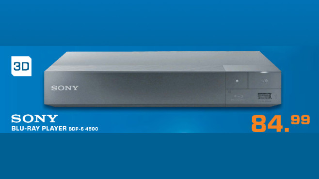 Sony BDP-S4500 ©Saturn