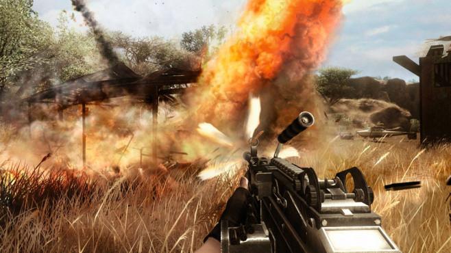 Far Cry 2 ©Ubisoft
