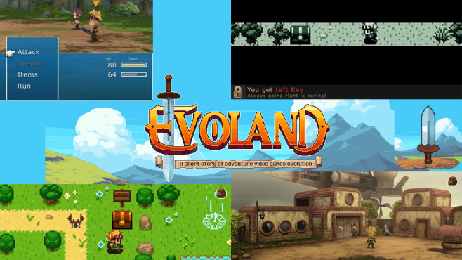 Evoland © Shiro Games