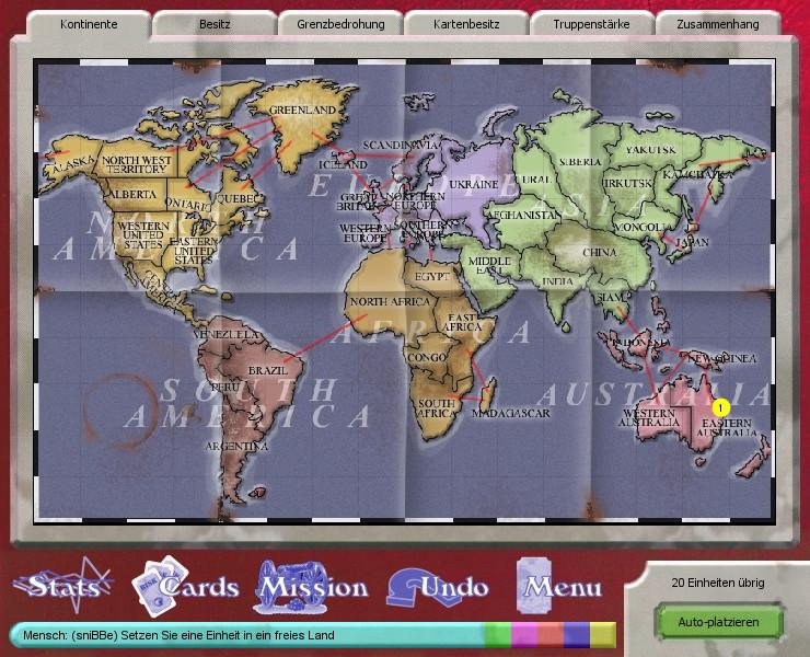 Screenshot 1 - Domination (Mac)