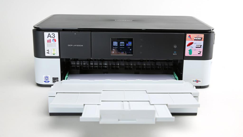 Brother DCP-J4120DW: All-in-One-Drucker im Test©COMPUTER BILD