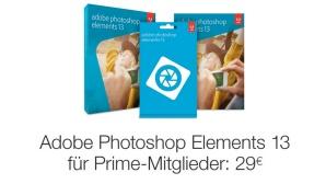Photoshop Elements günstiger©Amazon, Adobe, COMPUTER BILD