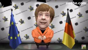Angela-Merkel-Avatar bei Zoobe©COMPUTER BILD