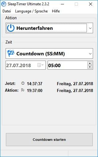 Screenshot 1 - SleepTimer Ultimate