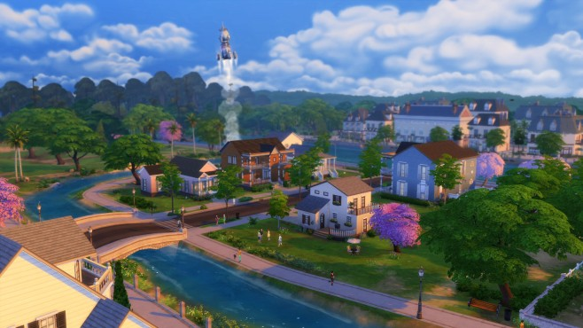Die Sims 4: Newcrest©Electronic Arts