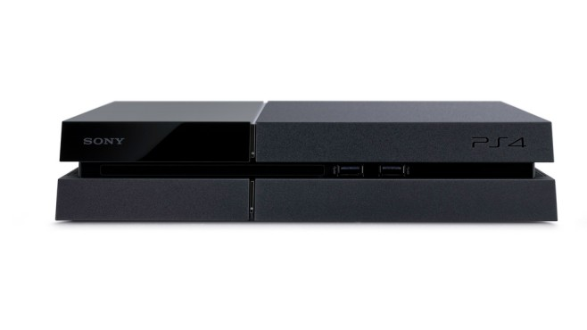 PlayStation 4: Front ©Sony