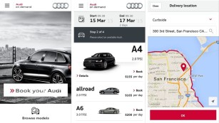 Audi On Demand App © AUDI
