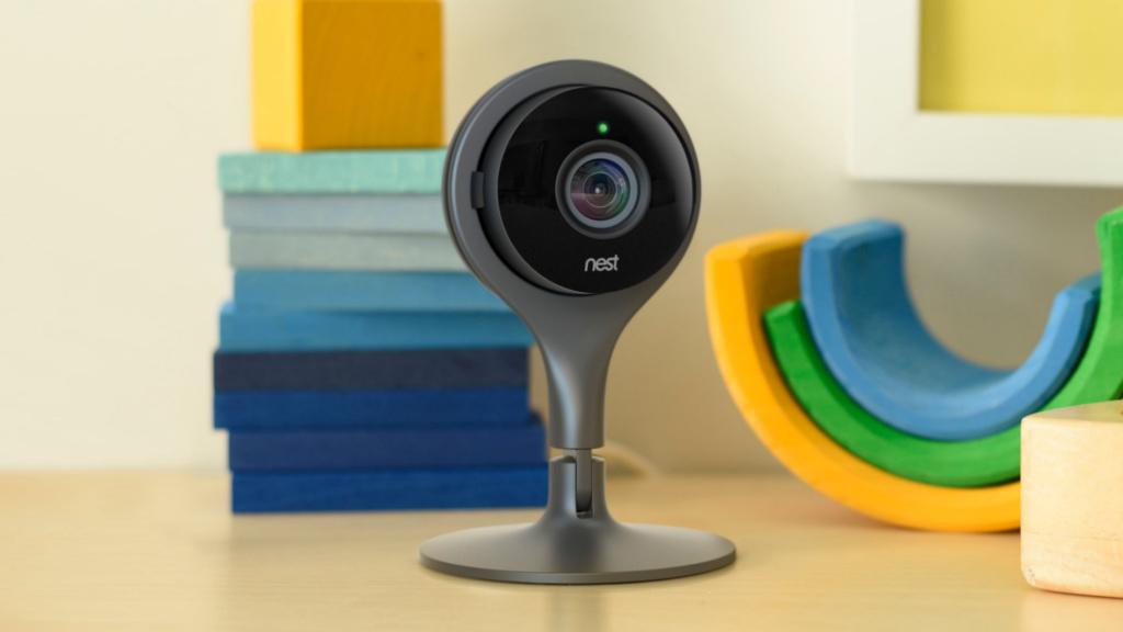 nest cam sicherheitskamera vorgestellt computer bild. Black Bedroom Furniture Sets. Home Design Ideas