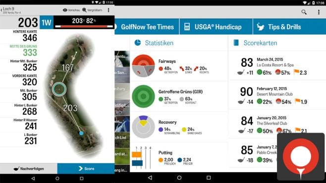 Golfshot – Golf-GPS ©Shotzoom Software