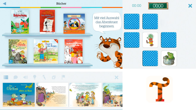 TigerBooks - interaktive Kinderbücher und Kinderfilme ©Tigerbooks Media GmbH