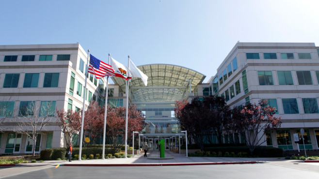 Apple in Cupertino, USA ©AFP/gettyimages