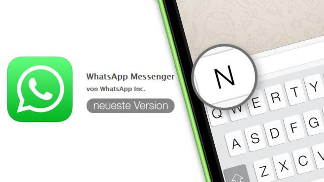 Update für Whatsapp©Whatsapp