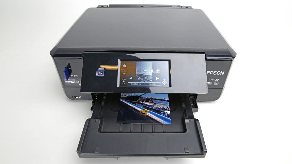 Epson Expression Premium XP-720: All-in-One-Drucker im Test©COMPUTER BILD