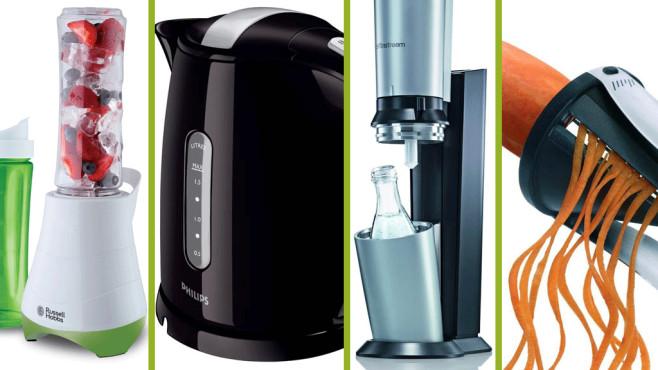 Küchenmaschinen bei Amazon©Russel Hobbs, Philips, SodaStream, Gefu