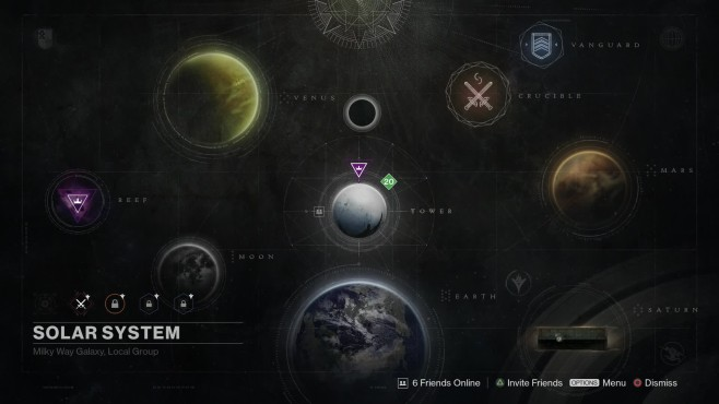 Destiny: Planeten©Activision