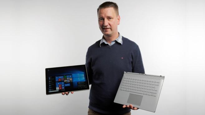 Microsoft Surface Book 2 13 (late 2017) © COMPUTER BILD