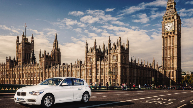 DriveNow in London©DriveNow