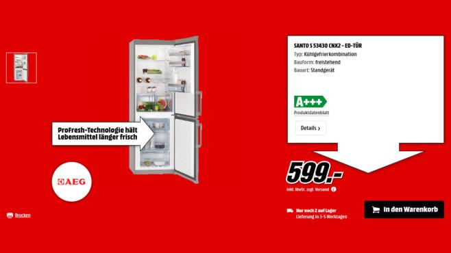 AEG S 53430 CNX2 ©Saturn