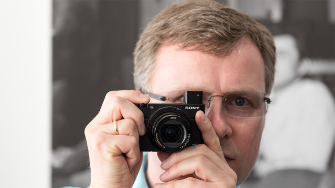Sony Cyber-shot RX100 Mark IV: Kompaktkamera filmt in 4K-Auflösung©COMPUTER BILD