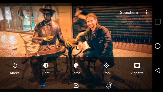 Funktionsumfang von Google Fotos ©COMPUTER BILD