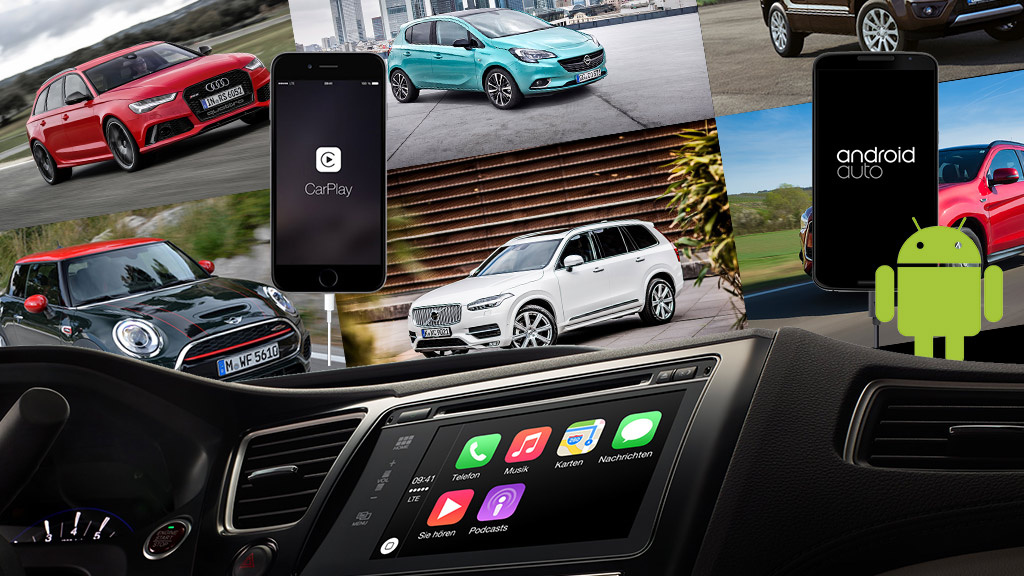 Android Auto and Apple Carplay: 40 Brands in the Check
