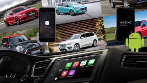 Mini, Mitsubishi, Audi, Opel, Volvo, Apple, CarPlay, Google, Android Auto©Mini, Mitsubishi, Audi, Opel, Volvo, Apple, Google