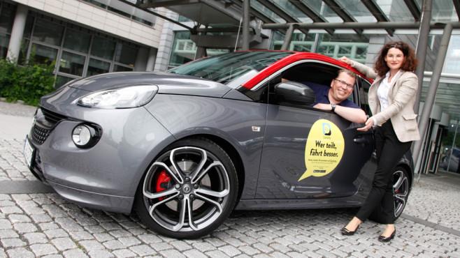 Opel startet CarUnity-App©Adam Opel AG