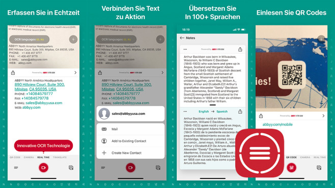 Textgrabber 6 – Real-Time OCR © ABBYY