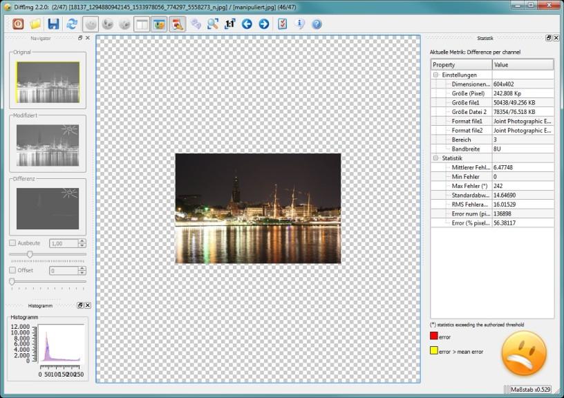 Screenshot 1 - DiffImg