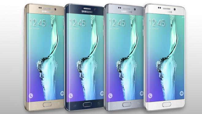 Farben Speicher, Preise Samsung Galaxy S6 Edge+©Samsung