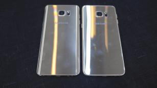 Rückseite Samsung Galaxy S6 Edge+ Galaxy Note 5©COMPUTER BILD