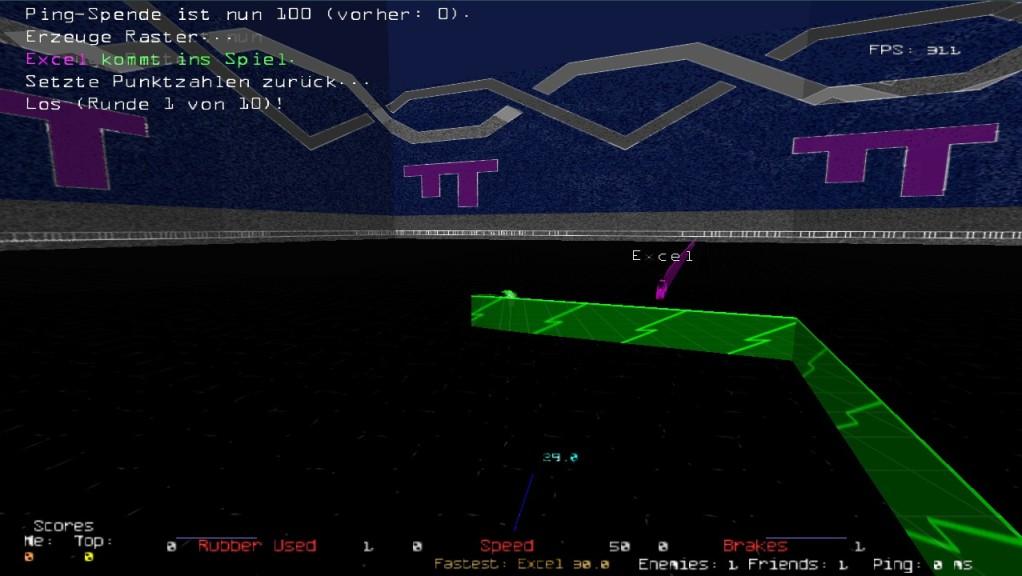Screenshot 1 - Armagetron Advanced Portable