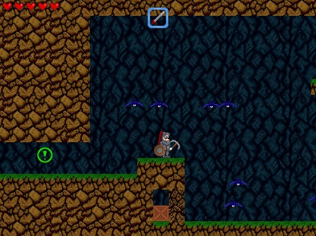 Screenshot 1 - The Legend of Edgar Portable
