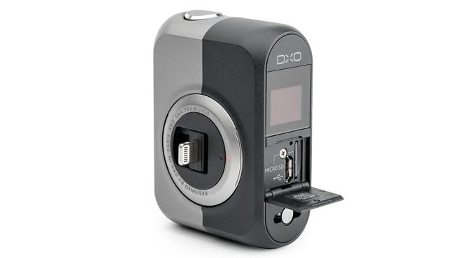 DxO One Mini-SD und Micro-USB©DxO