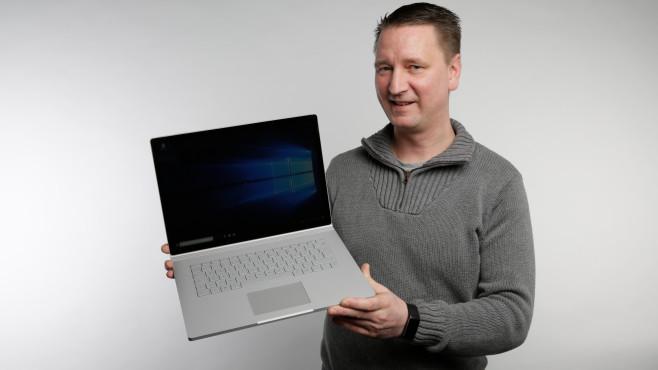 Microsoft Surface Book 2 15 ©COMPUTER BILD