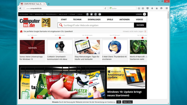 Firefox Portable ©COMPUTER BILD
