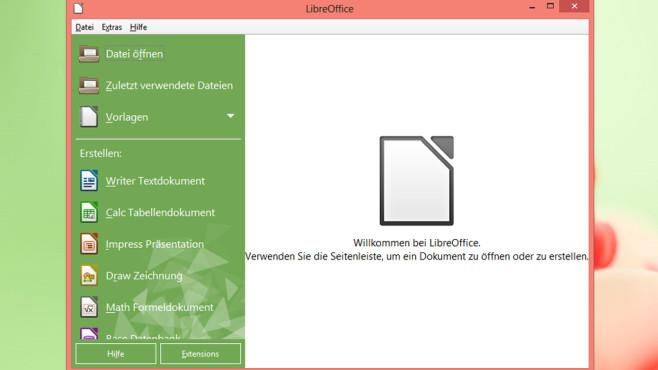 LibreOffice Portable ©COMPUTER BILD