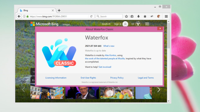 Waterfox Portable (64-Bit-Firefox) ©COMPUTER BILD