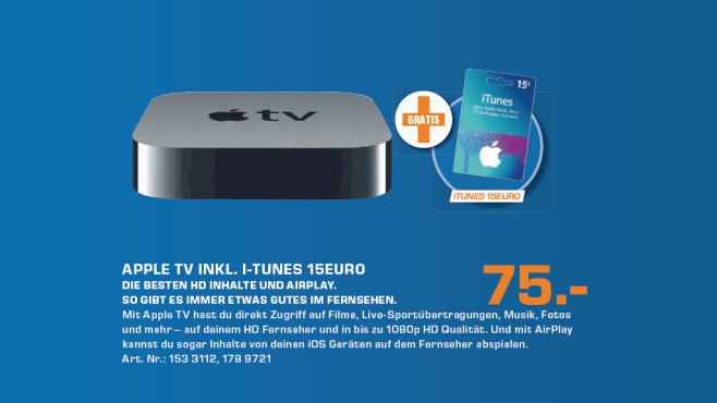 Apple TV 3 © Saturn